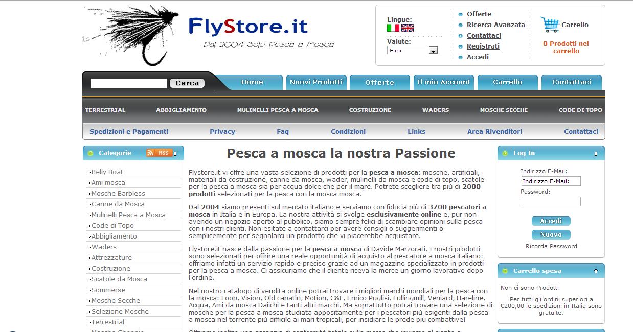 Flystore.it ecommerce