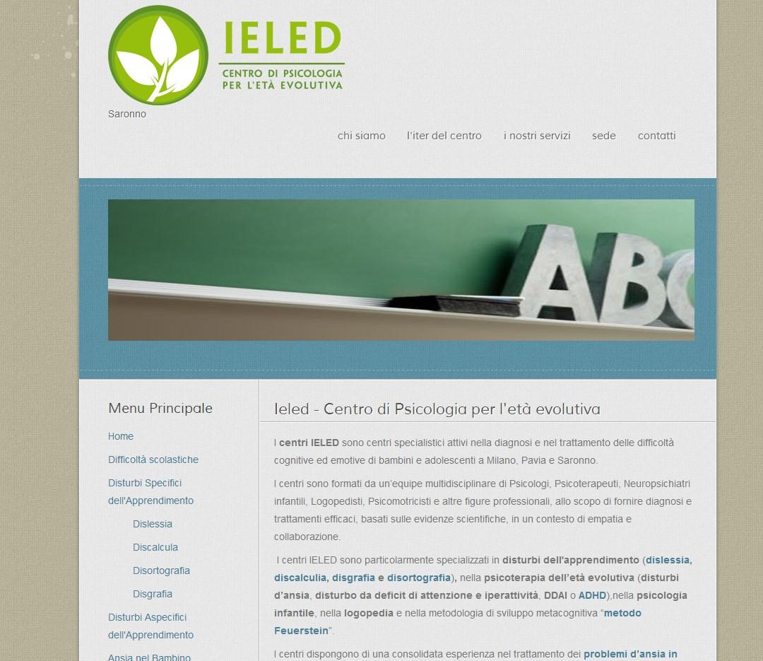 Ieled Saronno: Centro di psicologia per l'età evolutiva