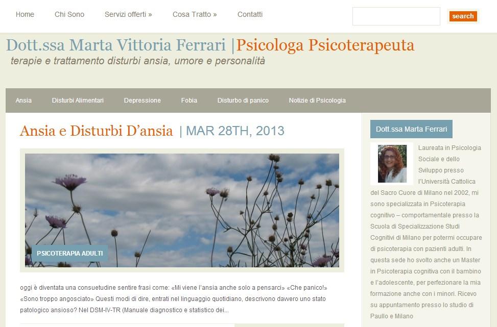 Dott.ssa Marta Vittoria Ferrari