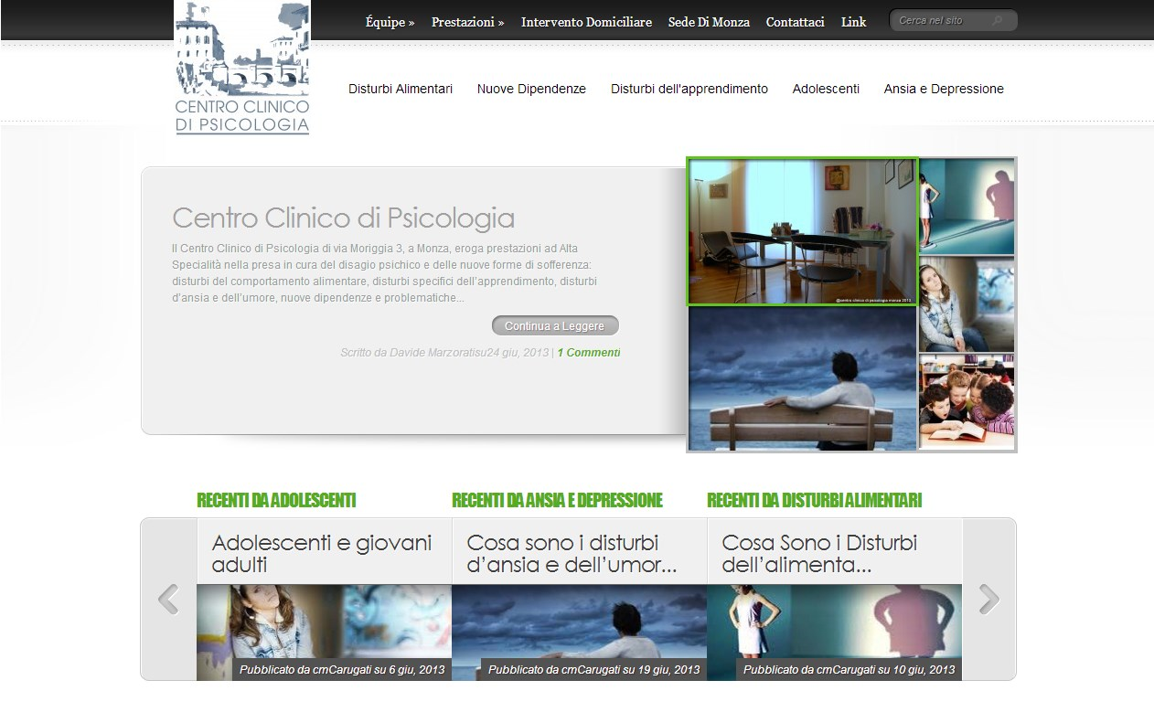 Centro di psicologia Monza | Sviluppo sito web