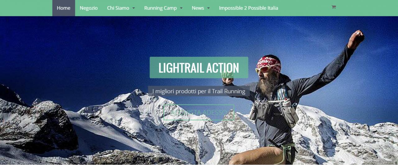 E-commerce per Lightrailaction.com