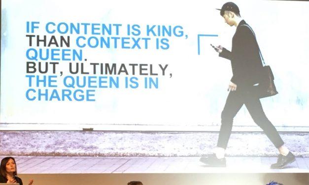 Se il contenuto è il re allora il contesto è la regina e la regina è in comando