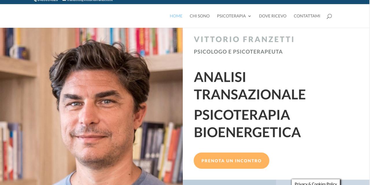 Sito Psicologo Vittorio Franzetti